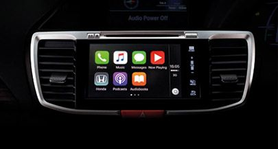 Accord-hybrid-Apple Carplay