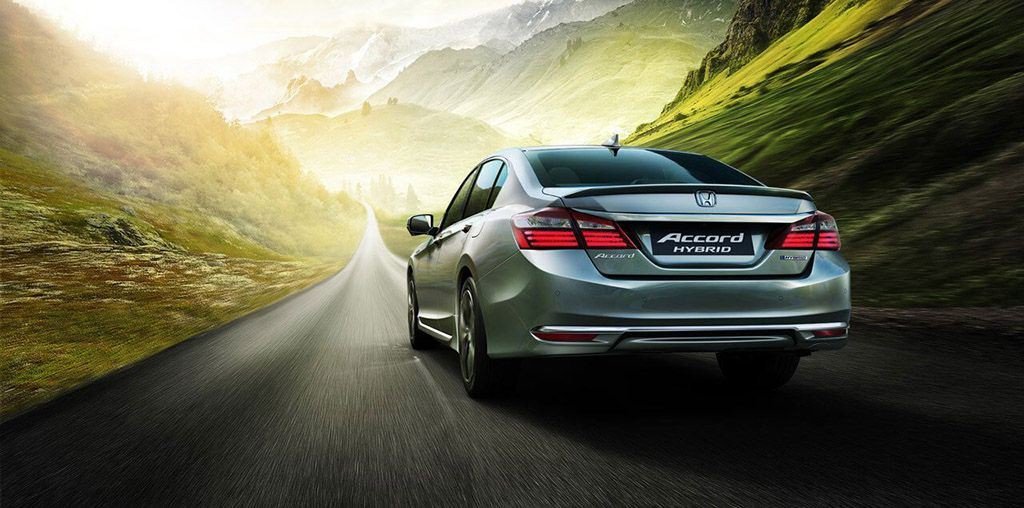 Accord-Hybrid-Back view
