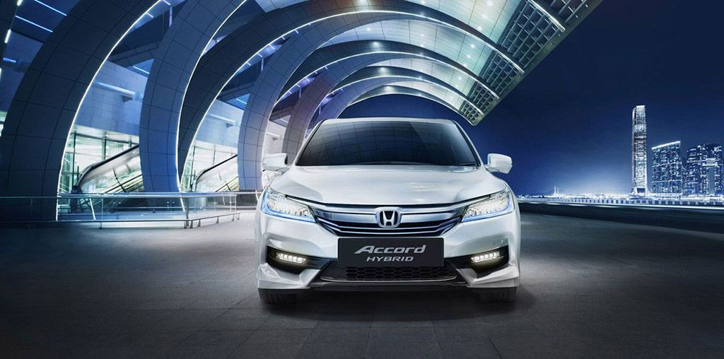 Accord-Hybrid-Front view