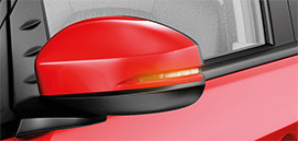 Honda Brio-Outside Mirror With Turn Indicator