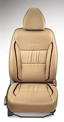 Honda-City-Seat Cover PV Gathering with Woody Stripes