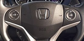 Honda-City-Multifunction Steering Wheel (Audio, Video Command, Hands Free & Cruise Control)