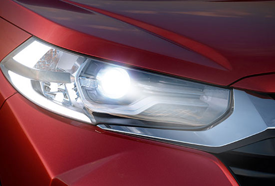 Honda WRV-Headlamps with LED DRL & Position Lamp