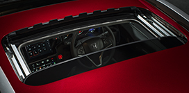 Honda-WRV-One Touch Electric Sunroof
